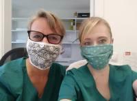 Empfehlung zur Mund-Nase-Bedeckung in unserer Praxis